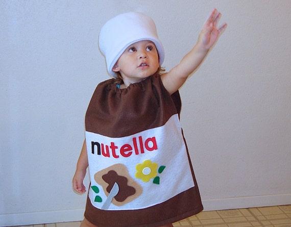 Erwachsenen Kostum Nutella Halloween Kostum Haselnuss Etsy