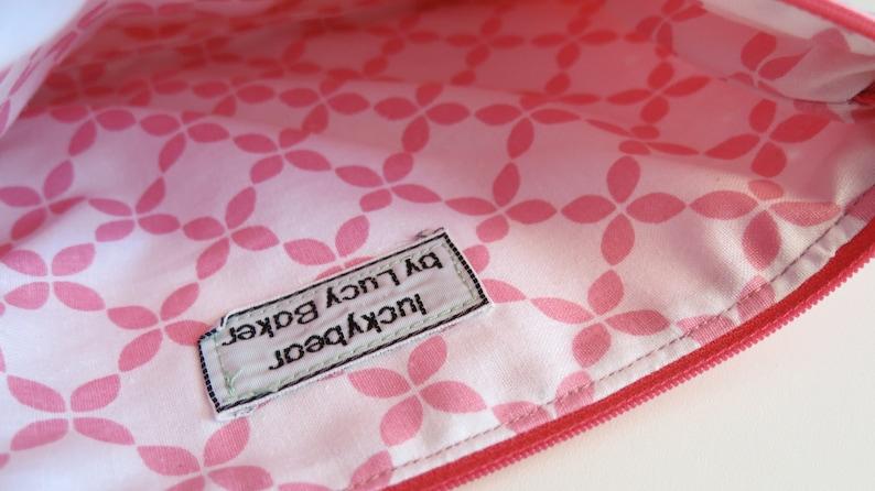 Pink spotty pouch Sale