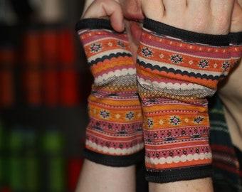 Short mittens