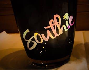 Southie Rocks Glass