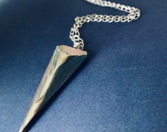 Abalone Spike Pendant Necklace