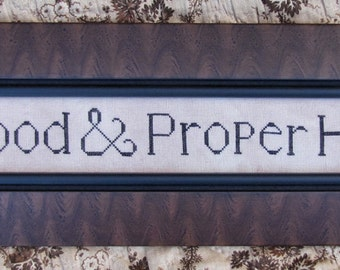 Good & Proper