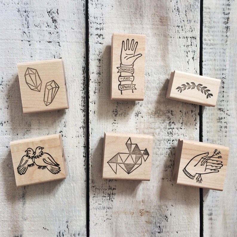 FULL LINE of Rubber Stamps by Brown Pigeon and Tusk and image 0