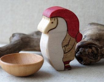 Original Tomten and his bowl