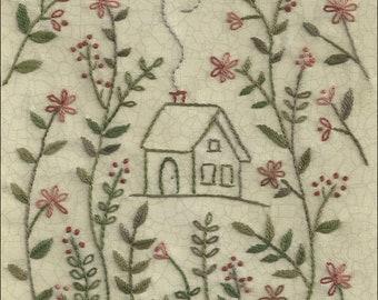 One Stitch at a Time design - Garthwick Garden embroidery pattern