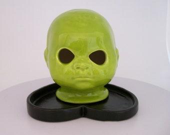 Alien   Doll Head Night Light