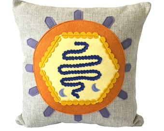 Science Diagram Pillow - Virus / Virologist / Epidemiologist / Biochemist / Microbiology / Biochemistry / Epidemiology / Coronavirus / Covid