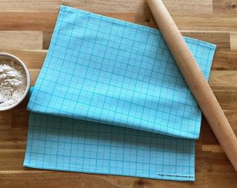 "Graph ""Paper"" Towel - Decorative Tea Towel // Math // Science // Graphing // Teacher // Middle School // High School // Loose Leaf"