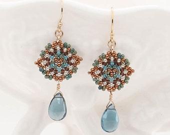 Maren Picot Drop Earrings