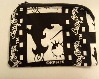 Jetsons cartoon handmade zipper fabric coin change purse card holder