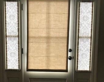 Front Door Curtain Etsy