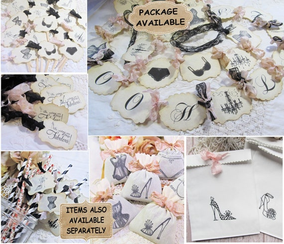 PACK 2 PINK CORSET AND SHOE EMBELLISHMENT TOPPERS FOR CARDS AND CRAFTS