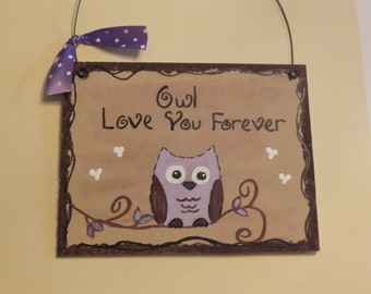 Owl Love You Forever - Purple