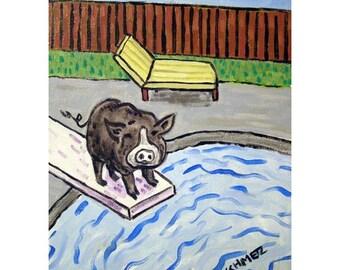 Pig art