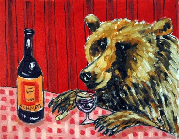 BELUGA WHALE  art PRINT 8.5x11 glossy animals artist impressionism