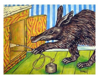 Aardvark Pest Control Art Print