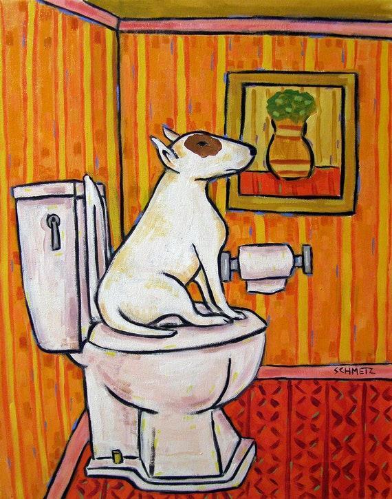 scottish terrier living room wall art 11x14 JSCHMETZ modern dog impressionism