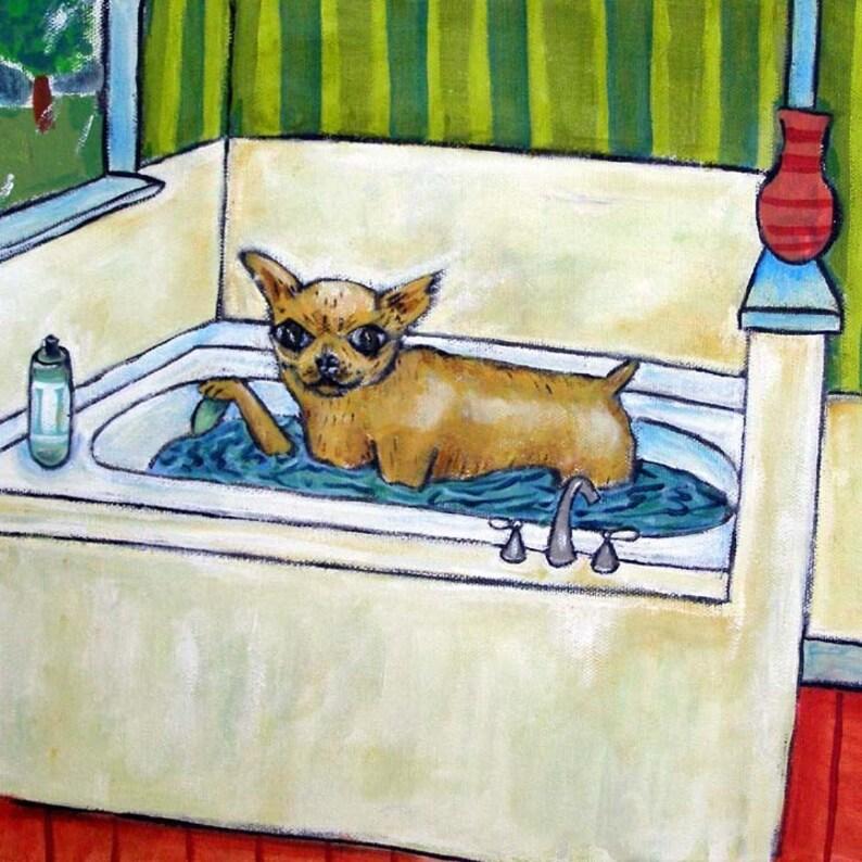 Chihuahua gifts Chihuahua art Chihuahua coaster Chihuahua tile Coffee