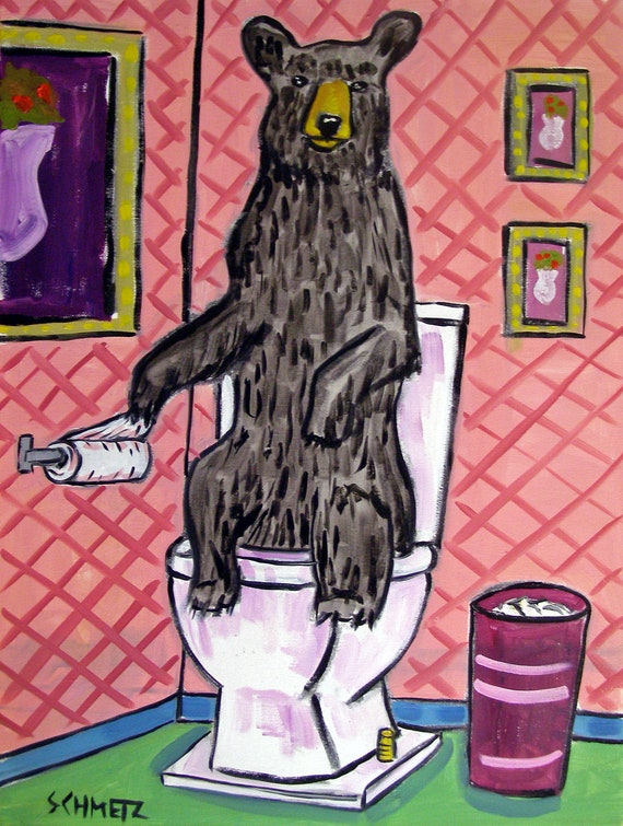 CORGI GUITAR dog art print  art PRINT animals gift new 8x10 impressionism