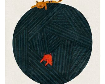 The yarn ball