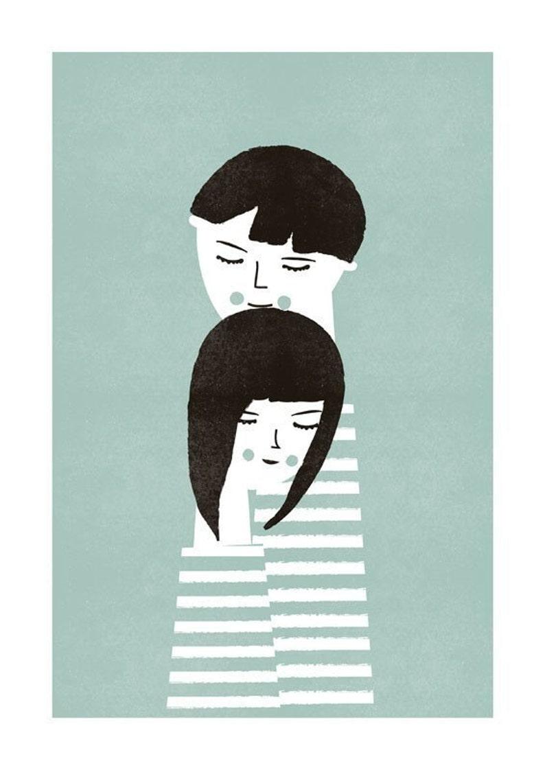 The couple print image 0