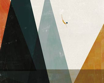 Nadadora print