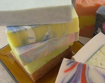 Handmade Soap  Set of 3  Bars