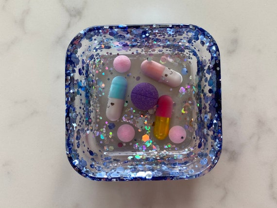 chill pill jewelry bowl