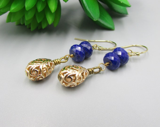 Lapis Earrings | Signature Earrings