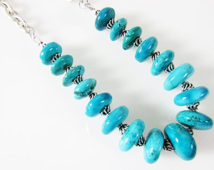 Blue Turquoise Necklace | Bold Necklaces | Signature Jewelry