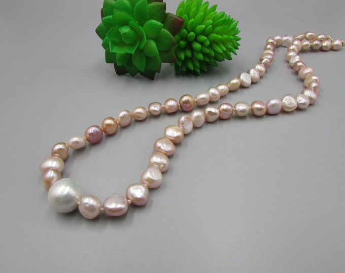 Pearl Necklace | Hand Knotted Pearls