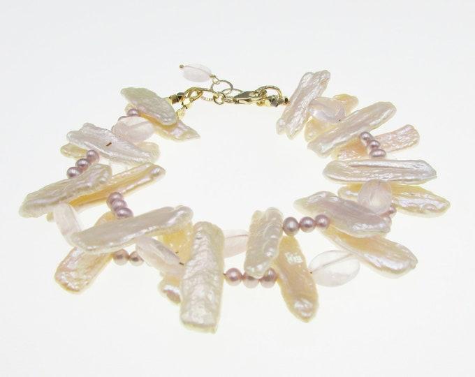 Pearl Bracelet | Multi Strand Pearl | Wedding Bracelet