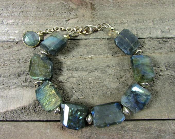 Labradorite Bracelets   Bold Bracelets   Gemstone Bracelets   Signature Bracelets