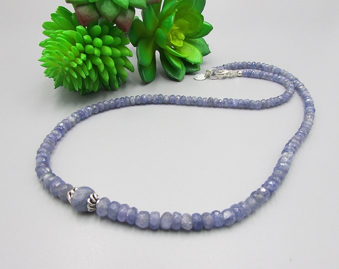 Tanzanite Necklace | Gemstone Necklace