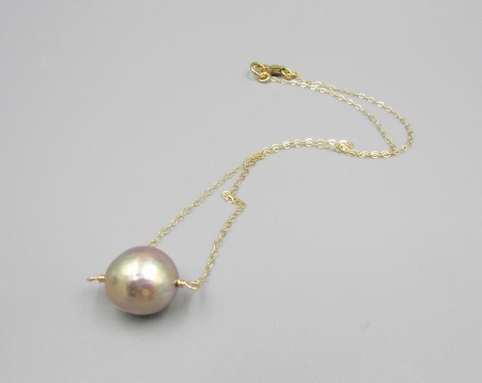 Pearl Choker |  June Birthstone | Delicate Jewelry