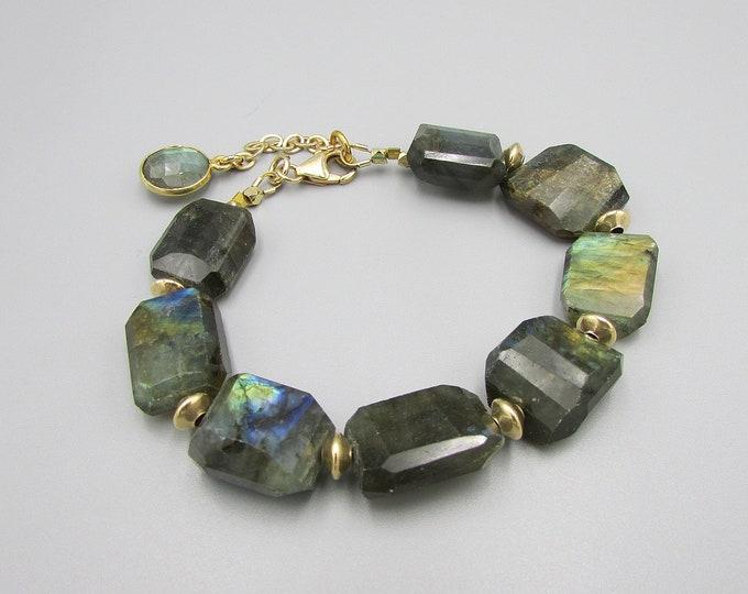Labradorite Bracelets | Bold Bracelets | Gemstone Bracelets | Signature Bracelets