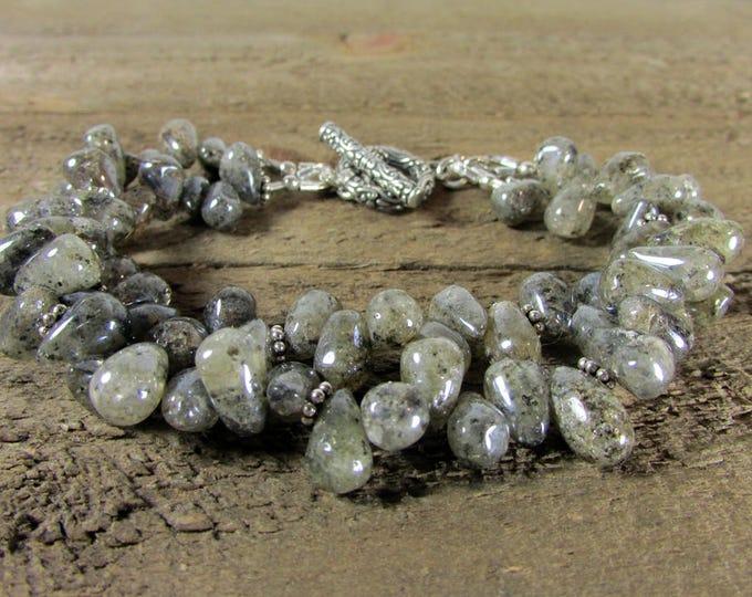 Mystic Labradorite Bracelet | Iridescent  Bracelets  | Signature Bracelets