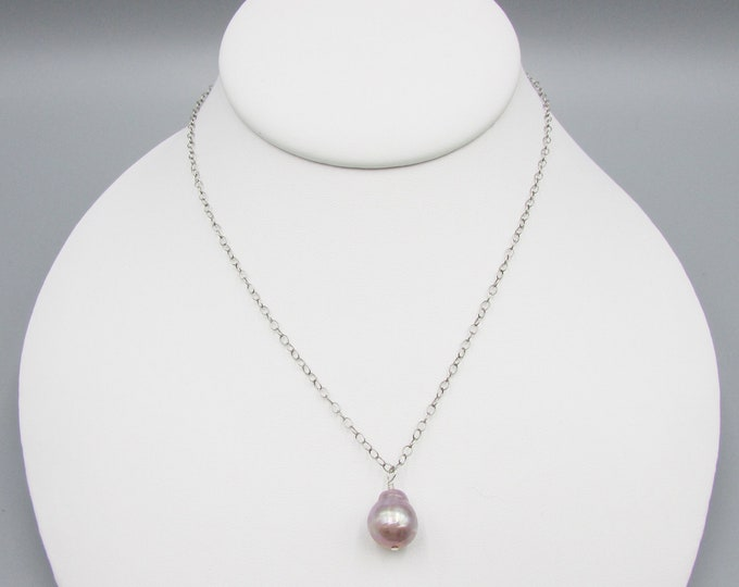 Baroque Pearl Choker Necklace | Edison Pearl Choker | June Birthstone