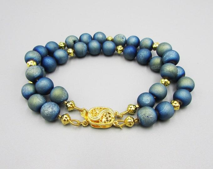 Blue Druzy Bracelet | Signature Bracelets