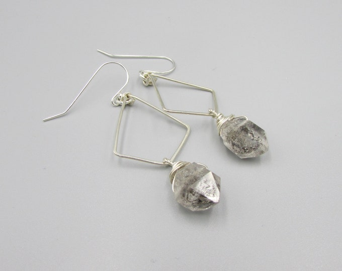 Herkimer Diamonds Earrings | Boho Earrings | Statement Earrings