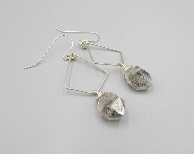 Herkimer Diamonds Earrings | Boho Earrings | Statement Earrings