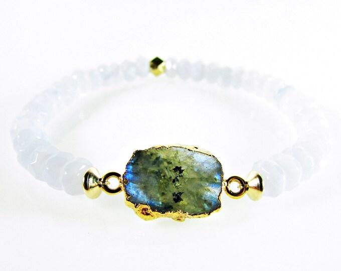 Gemstone Bracelets | Blue Lace Agate Bracelet