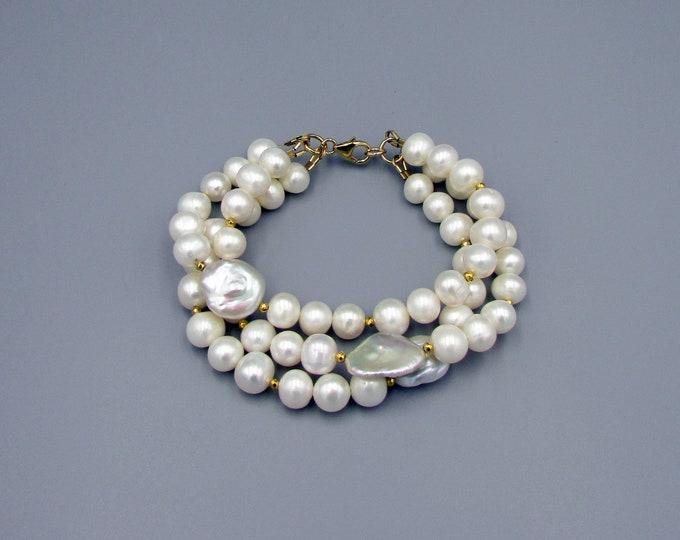 Pearl Bracelet | Multi Strand Bracelet