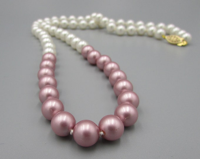 Pearl Necklace | Hand Knotted Jewelry |  Swarovski Pearl Jewelry | Classic Pearl Jewelry | Bridal Jewelry