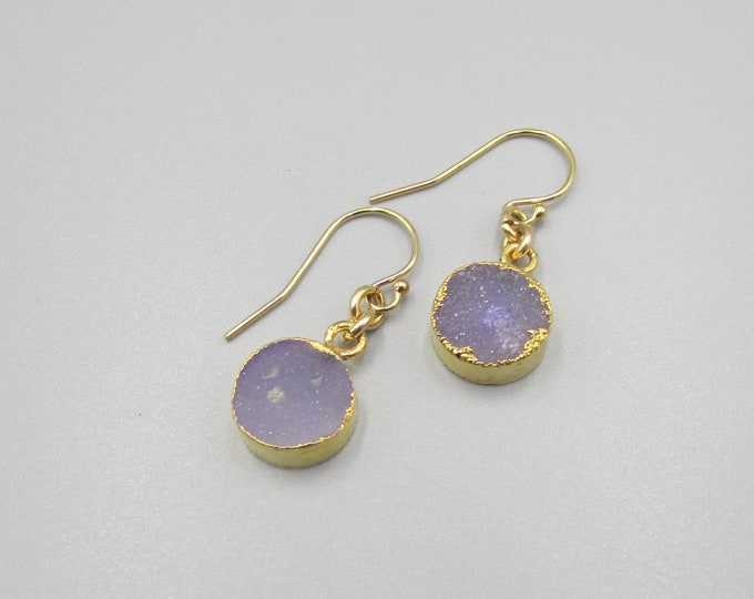 Druzy Earrings | Minimal Earrings