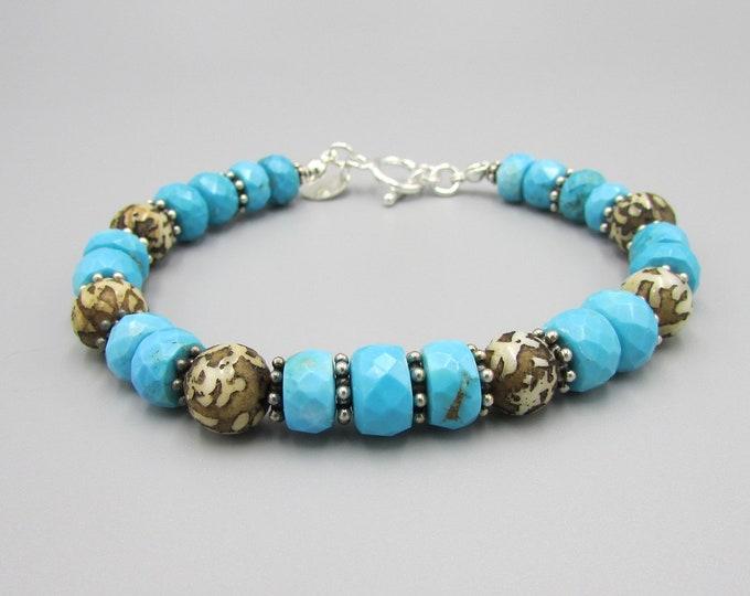 Blue Turquoise Bracelet | Signature Jewelry