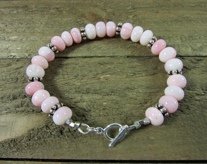 Pink Opal Bracelets | Peru Opal Jewelry | Signature Jewelry