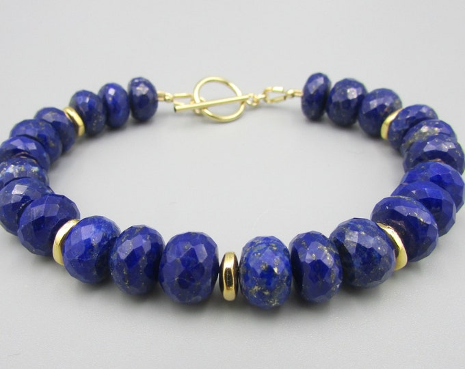 Genuine Blue Lapis Bracelets | Dark Blue Bracelets