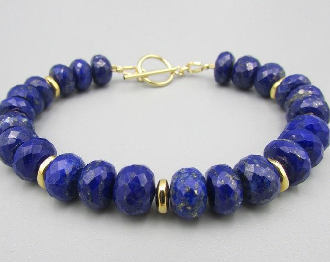 Genuine Blue Lapis Bracelets | Dark Blue Bracelets