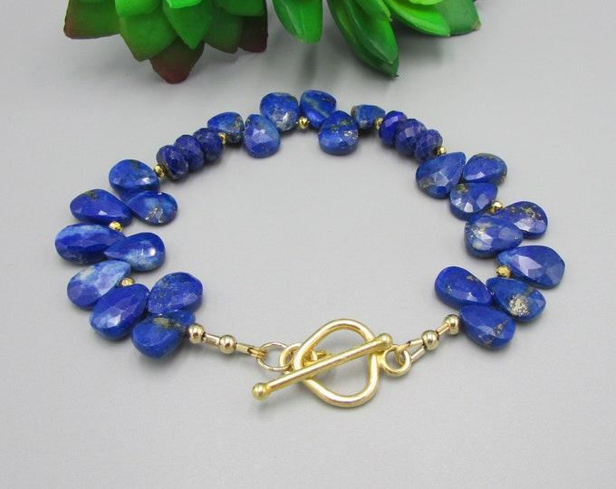 Blue Lapis Bracelet | Gemstone Bracelets